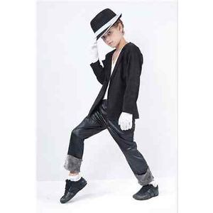 Kid Childrens Michael Jackson Billie Jean Costume Small