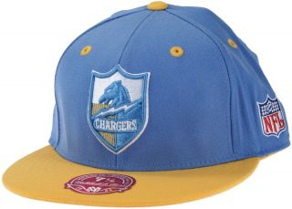 San Diego Chargers NFL Football Throwback 2 Tone Fitted Hat TL89