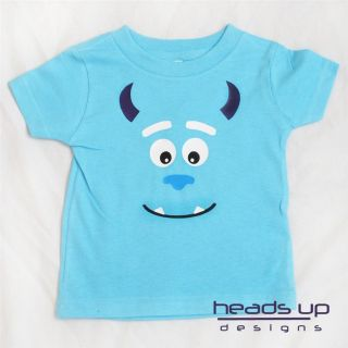 Monsters Inc Sulley Shirt Boy Girl Baby Adult Toddler Onesie Available Sully