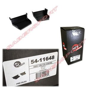 """In Stock"" afe Power Dynamic Air Intake Scoops 2007 2012 BMW 128i 135i E82 E88"