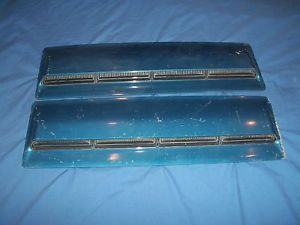 1966 Chevrolet Chevy Chevelle SS Factory Hood Scoops Right Left Pair