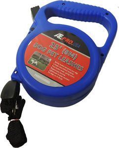 Ate Pro 90019 25 Feet Retractable Dog Pet Leash Small Dogs Supply Training Blue