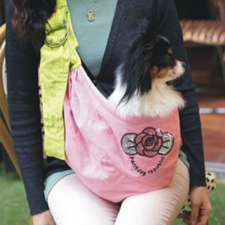 Aram Pet Dog Cat Puppy Carrier Bag Sling Tote Purse Carriers H4865 Pink