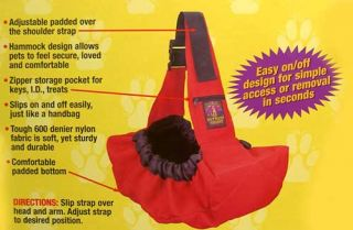 Pet Sling Go Small Dog Carrier Tote Pouch Outward Hound