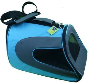 HDP Blue Fashionable Airline Approved Small Animal Dog Cat Travel Carrier