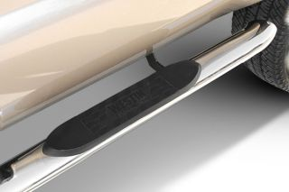 "07 13 Toyota Tundra Nerf Side Bars Double Cab 4"" Truck Running Boards W2W"