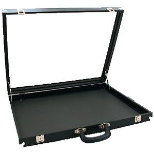 "Glass Top Travel Display Case 30"" x 17 1 2"" Swap Meet"