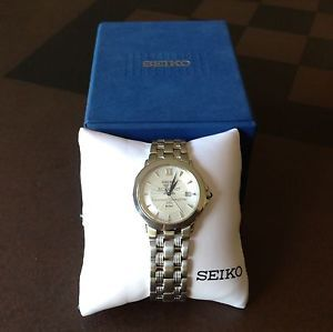 Seiko Mens Stainless Steel Watch