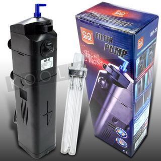 Sunsun New Garden Pond 75 Gallon Submersible 9W UV Light Clarifier Pump