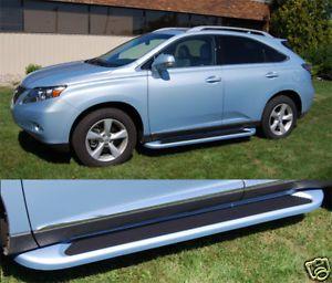Lexus RX350 Running Boards Side Steps Trim 2010 2011