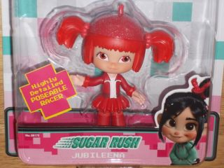 "New Disney Wreck It Ralph Sugar Rush Racers Jubileena 4"" Action Figure Doll"