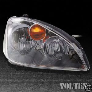 2002 2004 Nissan Altima Headlight Lamp Clear Lens Halogen Passenger Right Side