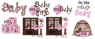 Baby Shower Round Address Labels Favors Stickers Seals