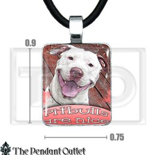 Pitbull Love Best Friend Dog Animal Lover Puppy Cute Pet Charm Pendant Necklace