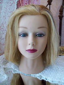 Cosmetology Beauty School Training Hair Makeup Mannequin Head Female