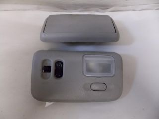 05 Nissan Altima Sunroof Switch Interior Lights Cubby Overhead Console 2005 1331