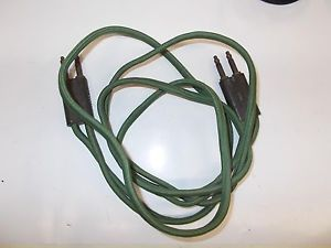 Vintage Western Electric Cloth Telephone Wiring Cord Patch Cable 338A Connector