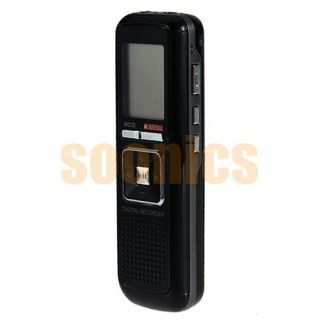 650Hr HQ Digital Audio Voice Spy Telephone Recorder Dictaphone Pen  Player