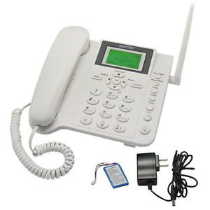 Bestek GSM Cell Phone Cordless Home Phone Wireless at T Phone Quadband Business