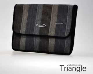 "New Triangle Cramshell Bag Case Sleeve for Apple MacBook Air 13"" A1369 VB01"