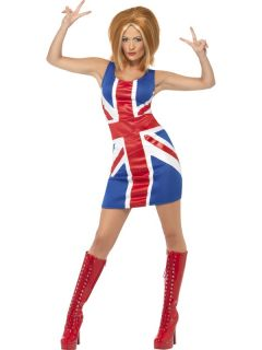 Spice Girls Costumes Fancy Dress Baby Posh Scary Sporty Ginger Size 8 18 Ladies