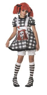 Tragedy Anne Child Costume Girls Kids Insane Crazy Theme Party Halloween Scary