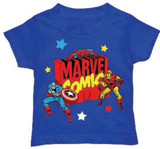 Marvel Comics The Avengers Logo Comic Book Superhero Toddler T Shirt Tee