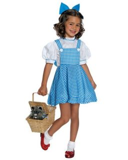 Rubies Wizard of oz Deluxe Child Dorothy Girls Halloween Costume Medium