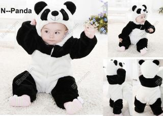 Baby Kid Toddler Boys Girls Animal Onesie Bodysuit Romper Jumpsuit Fancy Costume