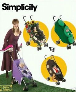 Simplicity Sewing Pattern 4021 Toddler Stroller Costumes Baby Kids 1 2 4