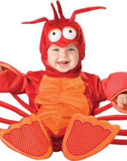 Infant Cute Red Lil Lobster Baby Outfit Animal Kids Halloween Costume s L