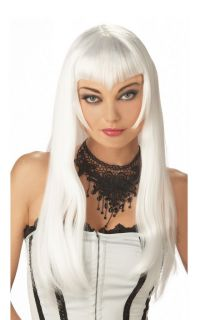 Sexy Vampiress Halloween Costume Wig White 70207