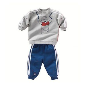 2pcs Kid Baby Boy Long Top Pants Set Suit Outfit Sports Clothing Clothes Bear