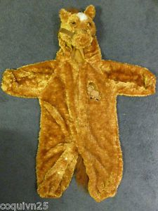 Baby Boy Girl Soft Brown Horse Halloween Costume 12 18 Months