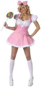 Ladies Sexy Baby Doll Halloween Fancy Dress Costume