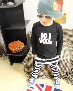 New Kids Suits Boys Girls Long Sleeve Shirts Harlan Pants Unisex Sets 5 6Y 130