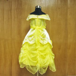 CP080604 Halloween Baby Girl Yellow Belle Princess Party Fancy Dress Costume 2 9