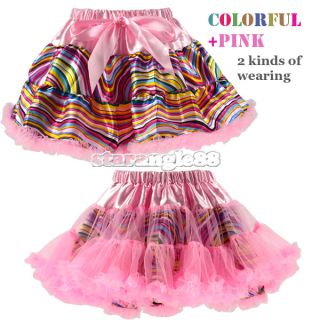 Beautiful Girls Baby Zebra Princess Ballet Dance Costume Tutu Dress Skirt SA88