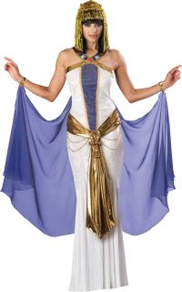 Jewel of The Nile Elite Adult Womens Egyptian Costume Medieval Cosplay Cape Gown