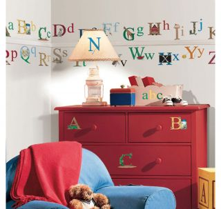 73 Education Alphabet Letters Kids Nursery Decor Wall Decals Stickers Stick UPS