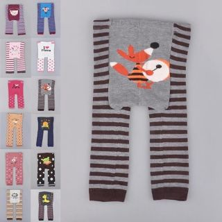 Cute Baby Toddler Boy Girl Cotton Animal Leggings Tights Pant 12 Models