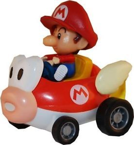 Super Mario Kart Figure Baby Mario in Cheep Charger New