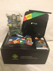 Jailbroken Android Quad Core TV w Camera Raspberry Pi Media Streamer Two PK