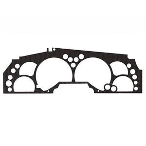 Ford F 250 99 04 Carbon Fiber Custom Speedometer Dash Gauge Bezel Trim Kit