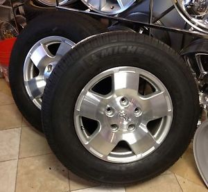 "Toyota Tundra 18"" Rims Wheels Tires Set"