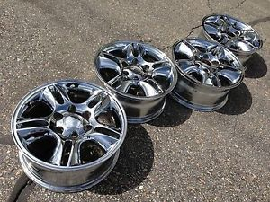 17 Lexus GX470 Toyota 4Runner FJ Tacoma TRD Factory Stock Chrome Wheels Rims