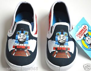 Thomas The Train and Friends Baby Toddler Boy Kids Sneaker Shoes Size 6 7 8 9 10