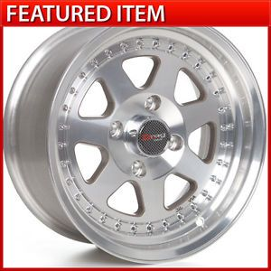 Drag Dr 27 15 15x7 4 114 3 0 Full Machined Wheels Rims Toyota AE86 Corolla