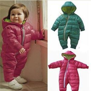 Boy Girl Baby Clothes Winter One Size Coat Jacket Outerwear
