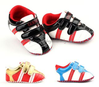 Baby Boys Crib Shoes Size 0 6 6 12 12 18 Months